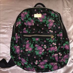 Nice Betsey Johnson floral Backpack